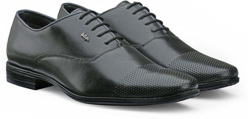 Lee Cooper Men's Formal Lace Up(Black)