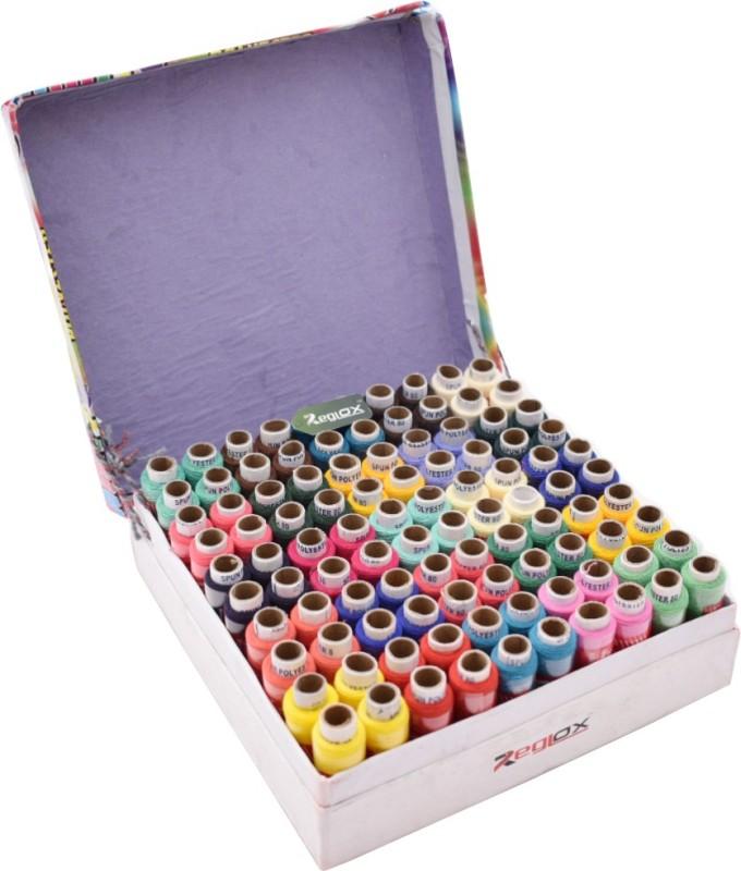 Reglox 100 Thread Spools 150 Meter Each Sewing Thread(150 m Pack of100)