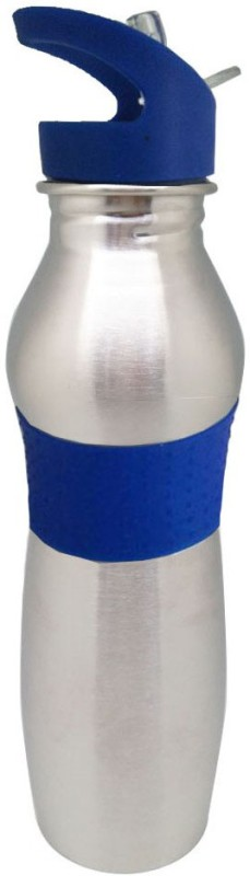 Tuelip Sports Water bottle 750 ml Bottle(Pack of 1, Silver)