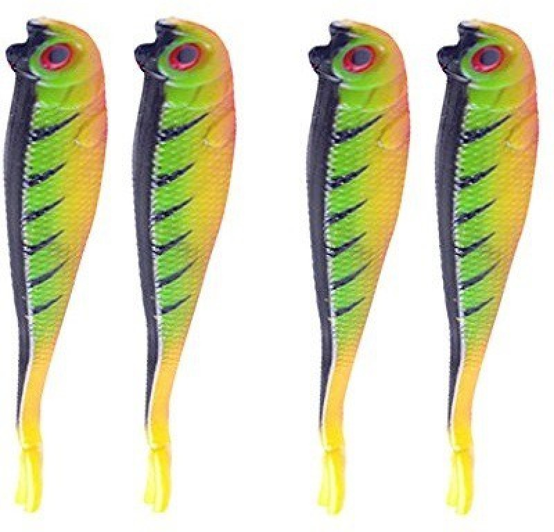 Futaba Soft Bait Silicone Fishing Lure(Pack of 4, Size 13)