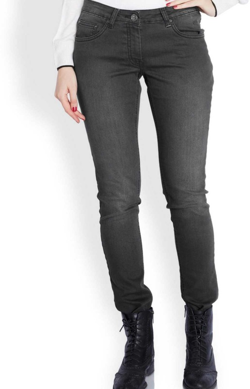 Park Avenue Skinny Womens Black Jeans