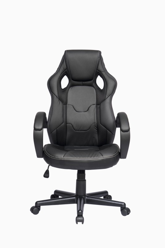 ZENNOIIR Executive Chair Leatherette Office Executive Chair(Black)