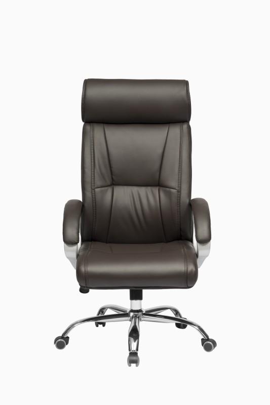 ZENNOIIR Executive Chair Leatherette Office Executive Chair(Brown)