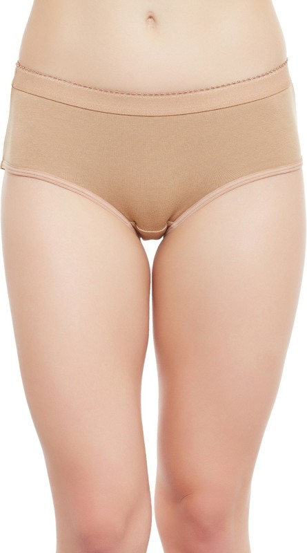 Clovia Womens Hipster Beige Panty(Pack of 1)