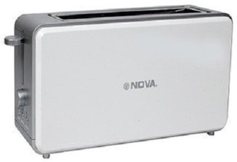 Nova NT-028-PS 800 W Pop Up Toaster(White)