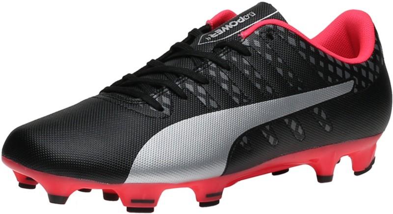 Puma evoPOWER Vigor 4 FG Football Shoes(Black)