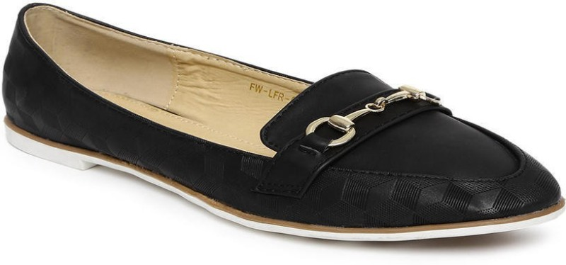Addons Addons embossed loafers Loafers(Black)