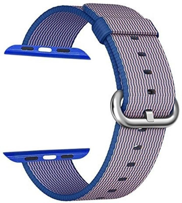 ShopAis Nylon Smart Watch Strap(Blue)