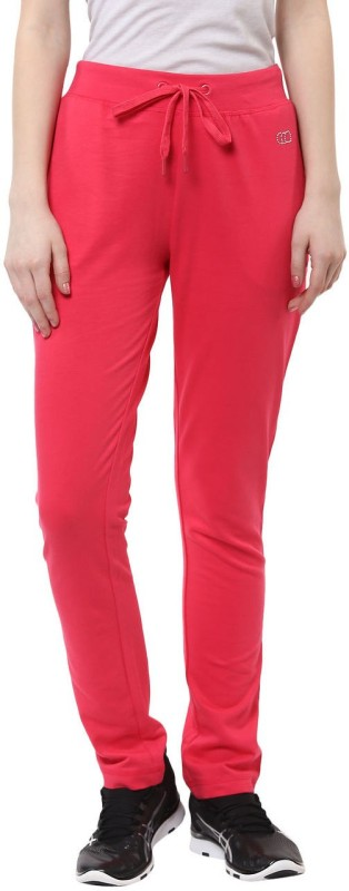 Ajile by Pantaloons Solid Women's Pink Track Pants