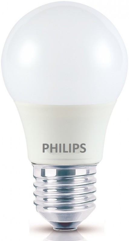 Philips 2.7 W Round E27 LED Bulb(Yellow)
