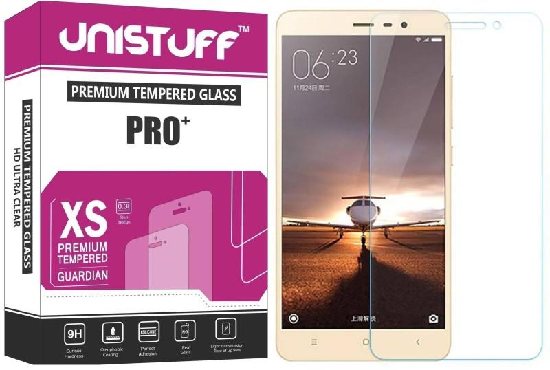 Unistuff Tempered Glass Guard for Xiaomi Redmi Note 3 Prime Xiaomi Redmi Note 3 Pro Xiaomi Redmi Note 3