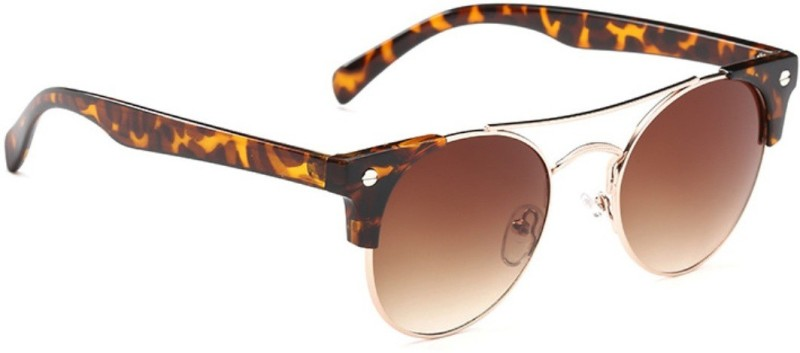 Mark Miller Clubmaster Sunglasses(Brown) image