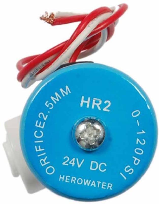 BalRama Solenoid Valve HERO 24v for RO / UV Solid Filter Cartridge(0.5, Pack of 1)