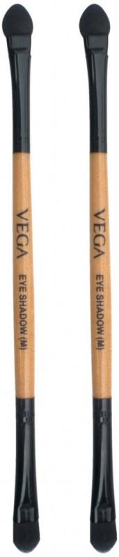 Vega Eye Shadow Brush and Eye Applicator 2 IN 1 Make-Up-Brush(Pack of 2)