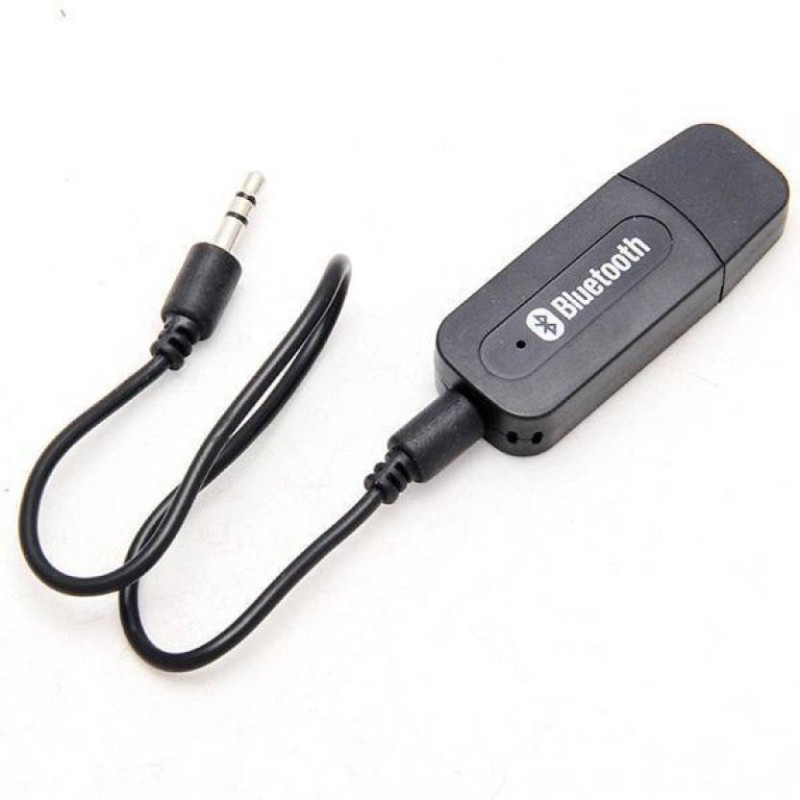 Auto Hub v2.1+EDR Car Bluetooth Device with USB Cable, 3.5mm Connector, MP3 Player(Black)