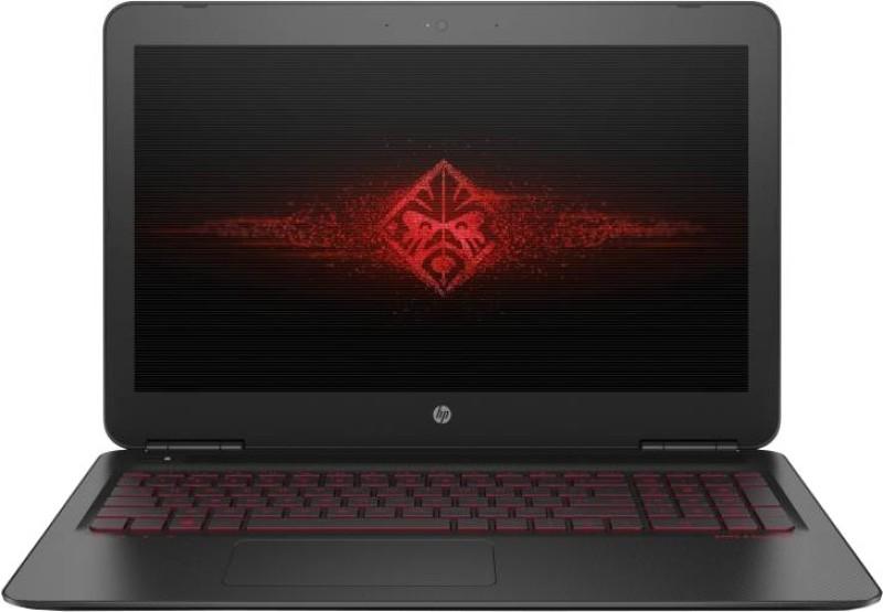 HP OMEN Core i7 7th Gen - (8 GB/1 TB HDD/128 GB SSD/Windows 10 Home/4 GB Graphics) 15-ax252TX Gaming Laptop(15.6 inch, Black, 2.20 kg) image