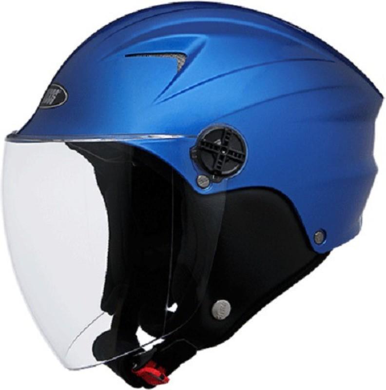 Studds dude Motorsports Helmet(flame blue)