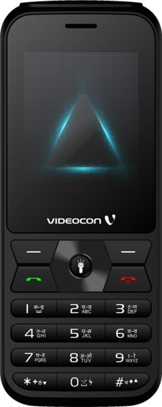 Videocon Bazoomba 5 V2RA(Black & Grey)