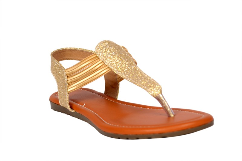 STUDIO9 Women Gold Flats