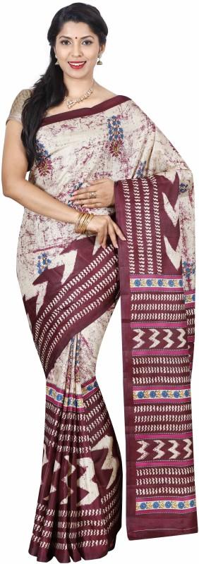The Chennai Silks Self Design Bollywood Tussar Silk Saree(Yellow)