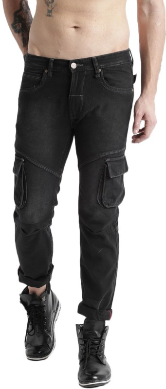 Roadster Regular Mens Black Jeans