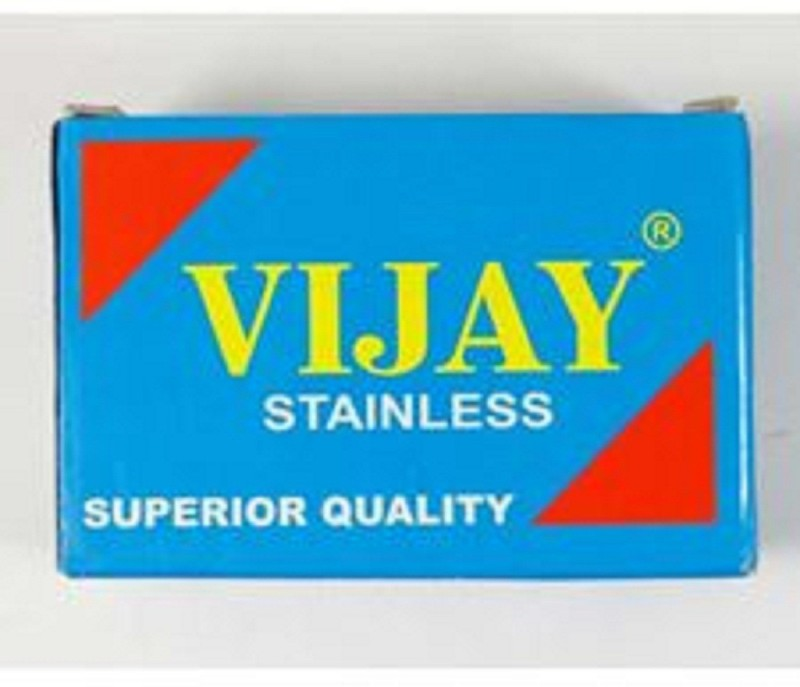 vijay 200 Blade Double Edge Safety Barber Shaving Razor Blades(Pack of 200)