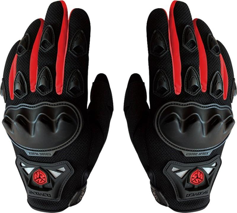Scoyco MC29 Riding Gloves (M, Black, Red)