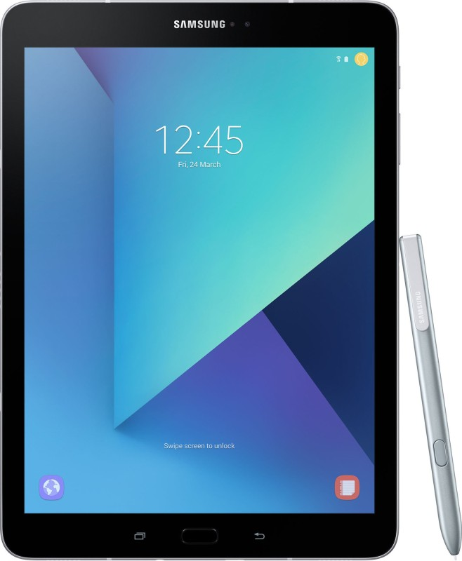 Just ₹47,990 - Samsung Galaxy Tab S3 (With Pen) 32 GB 9.7 Inch With Wi-Fi+4G Tablet (Silver)