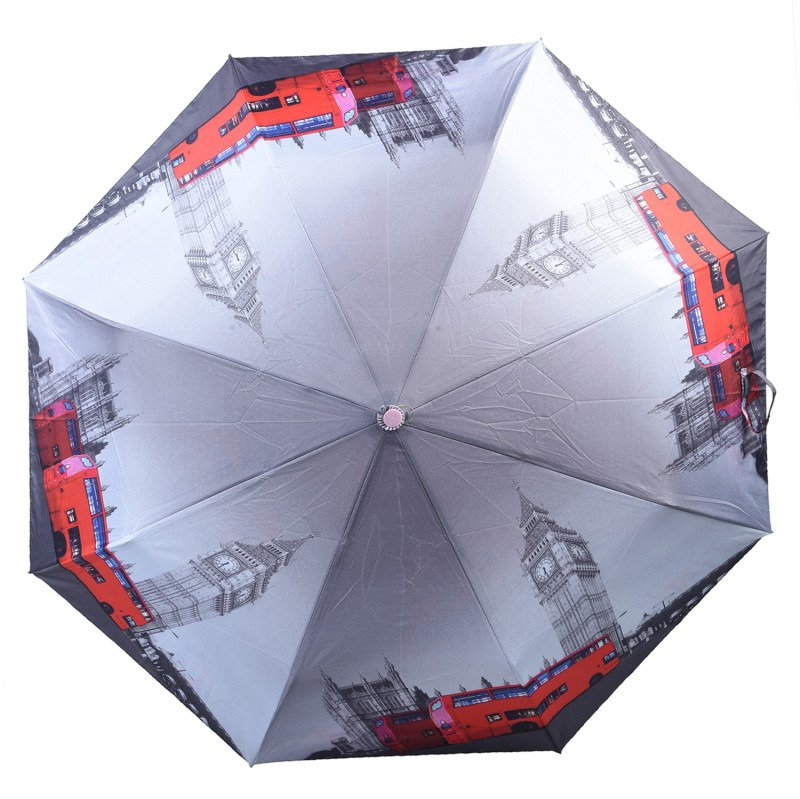 Asera 3 Fold Automatic Open Bus Umbrella(Multicolor)