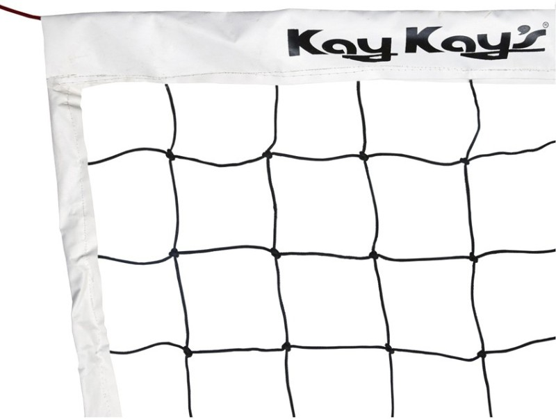 Kay Kay VB- 101V Volleyball Net(Black, White)