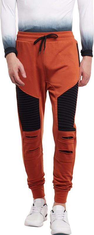 FUGAZEE Solid Men's Maroon Track Pants