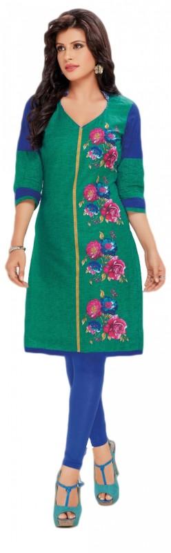 Fashion Stop Cotton Printed Kurti Fabric(Un-stitched)