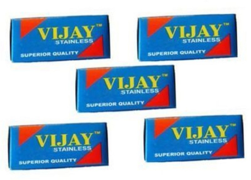 vijay Double Edge Safety Barber Shaving Razor blade(Pack of 150)