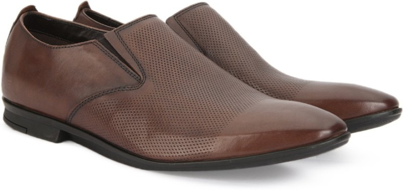 Clarks KINVER STEP TAN LEATHER Lace Up For Men(Tan)