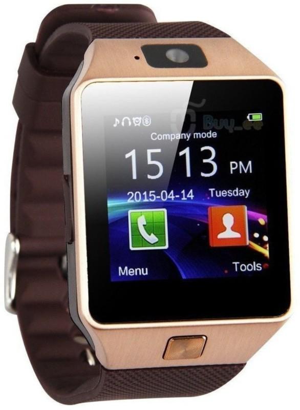 Any Time Buy DZ09 Notifier Notifier Smartwatch(Gold Strap