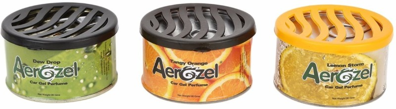 Aerozel Lemon Car Perfume Gel(90 g)