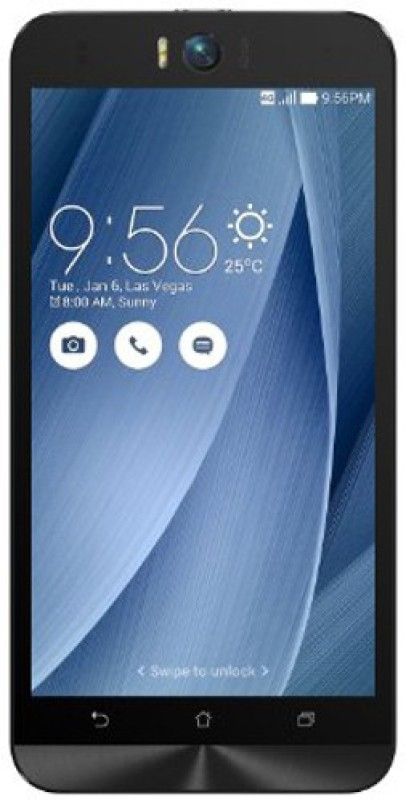 Deals | Asus Zenfone Selfie (Silver, 16 GB) Now ₹8999