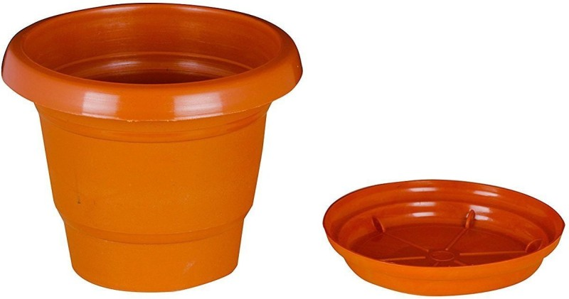 Minerva Naturals Plant Container Set(Pack of 12, Plastic)