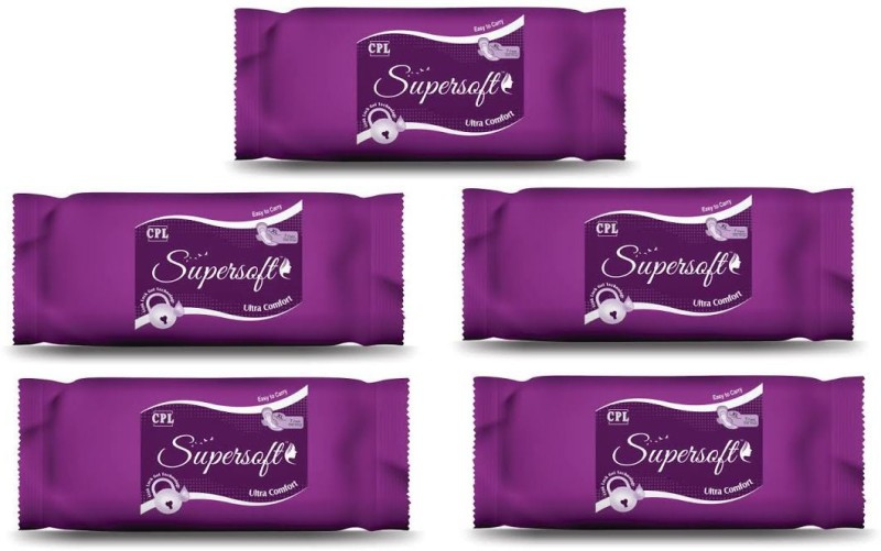 SUPERSOFT SSUXL Sanitary Pad(Pack of 7)