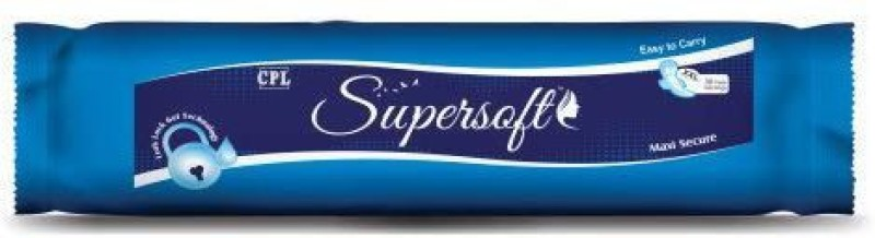 SUPERSOFT SSMXXL Sanitary Pad(Pack of 30)