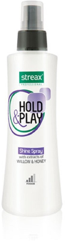 Streax Hold & Play Shine Spray Hair Styler