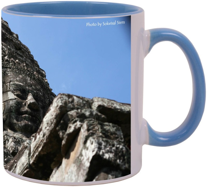 Arkist cambodia temple Ceramic Mug(340 ml)