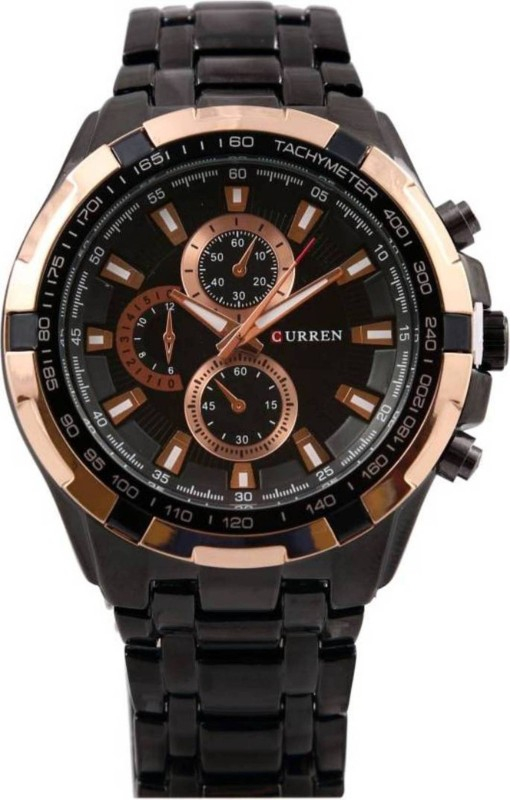 Curren 8023-Gold-waterproof Men's Watch