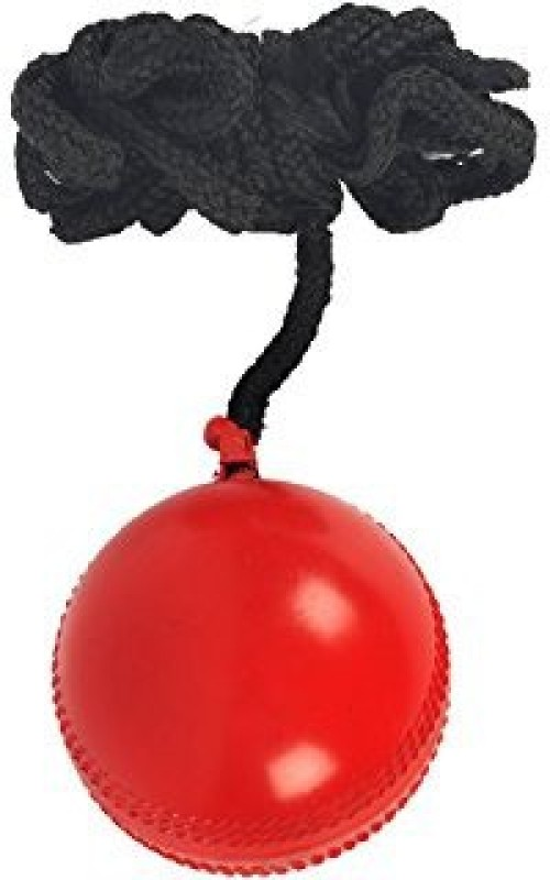 Sterling Cricket Practice Ball with thread for hanging Cricket Training Ball(Pack of 1, Red)