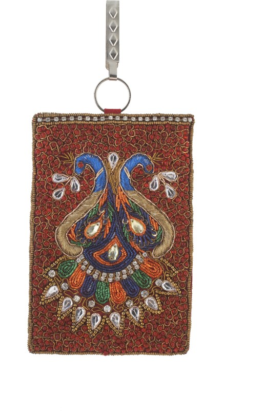 Vama Fashions Mobile Pouch for Women/girls to carry phone,cards&other Stuff. Potli(Multicolor)