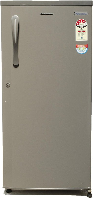 Kelvinator 190 L Direct Cool Single Door 4 Star Refrigerator(Silky Grey, KSE204)