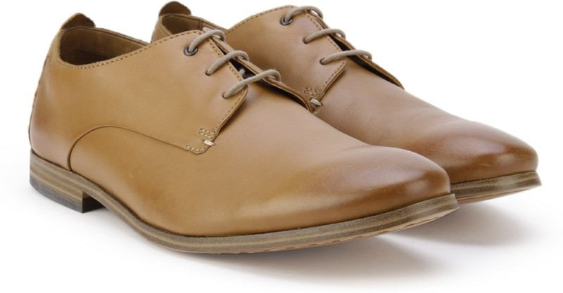Clarks Chinley Walk Tan Leather Lace Up For Men(Tan)