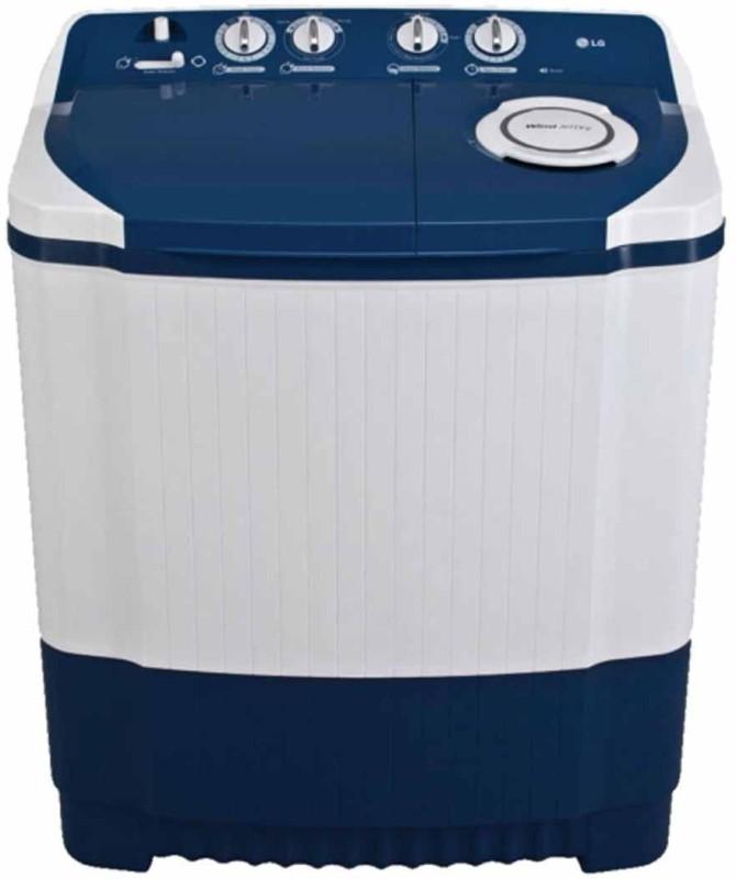 LG 7 kg Semi Automatic Top Load Washing Machine White,...