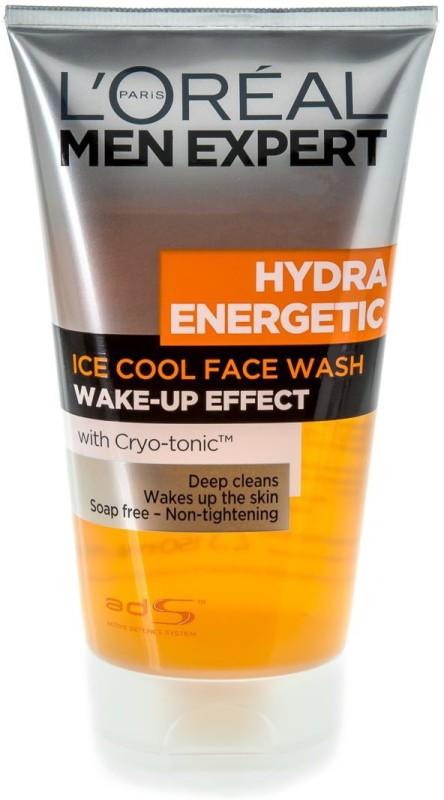 LOreal Paris Men expert Hydra energetic ice cool wake up effect Face Wash(149 ml)
