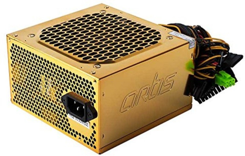 Artis 500W SMPS Power Supply Unit 500 Watts PSU(Gold)